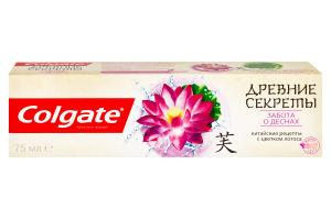 Паста зубная Забота о деснах Древние секреты Colgate 75мл