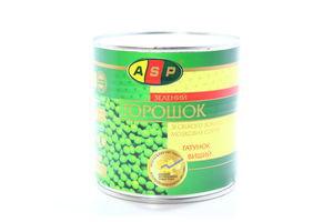 Горошок ASP консервований 420г з/б