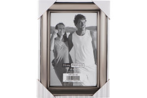 Home Profiles 4x6 Silver Picture Frame