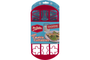 Mrs. Fields Mini Cookie Cuttables Christmans Multi-Cookie Cutter Grid