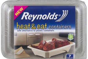 Reynolds Heat and Eat Containers - 7 CT