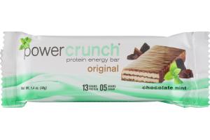 Power Crunch Protein Energy Bar Original Chocolate Mint