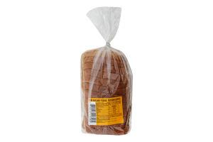 Хлеб половинка в нарезке Венский Запорізький хлібозавод №5 м/у 225г