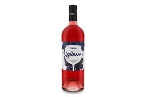 Вино 0.75л 9-13% рожеве напівсолодке Ізабелла Vinia пл