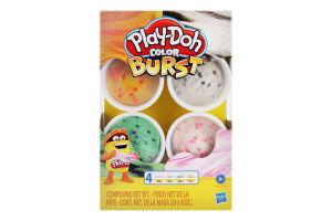 Набір для творчості для дітей від 3років з пластиліном №E6966 Color Burst Play-Doh 1шт