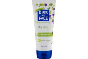 Kiss My Face Deep Moisturizing Lotion 2 in 1 Olive & Aloe