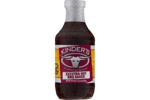 Kinder's Exxxtra Hot BBQ Sauce