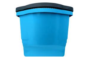 Ведро пластиковое 18л синее