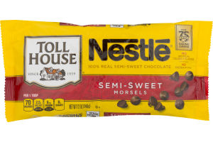 Nestle Toll House Semi-Sweet Chocolate Chips Morsels