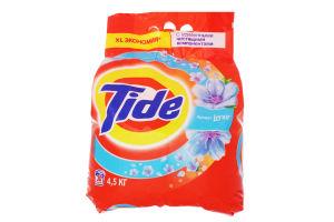 Порошок стиральный с усиленными чистящими компонентами аромат Lenor Tide 4.5кг