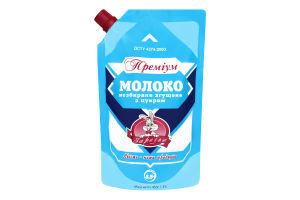 Молоко 8,5% Премиум цельное сгущенное с сахаром Заречье д/п 450г