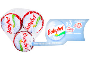 Сыр 25% полутвердый mini Babybel 3х20г