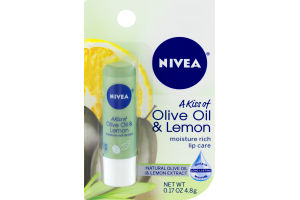 Nivea A Kiss of Olive Oil & Lemon Lip Care