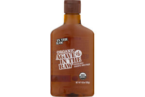 Agave In The Raw 100% Organic Agave Nectar