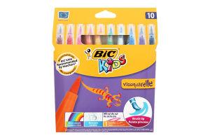 Набор фломастеров BIC Kids Visaquarelle 10 цветов