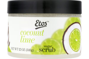 Etos Sugar Scrub Coconut Lime