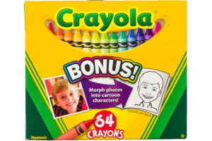 Crayola Crayons - 64 CT