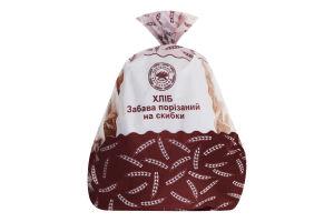 Хлеб половинка в нарезке Забава Прилуцький хлібозавод м/у 0.32кг