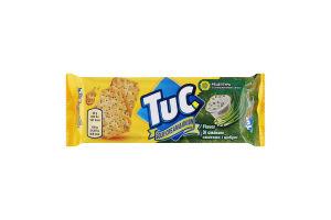 Крекер соленый Sour cream&Onion Tuc м/у 100г