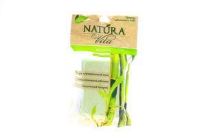 Мочалка для тела массажная бамбуковая Natura Vita 1шт