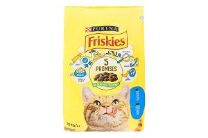 Корм сухий для котів з лососем і овочами Friskies м/у 10кг