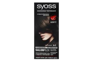 Крем-фарба для волосся Salonplex Professinal performance №4-1 Syoss 1шт
