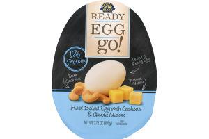 Crystal Farms Ready Egg Go! Hard-Boiled Egg With Cashews & Gouda Cheese