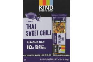 STRONG & KIND Thai Sweet Chili Savory Almond Bar - 4 PK