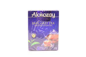Чай Алкозай Ерл Грей чорн.бергамот 100г
