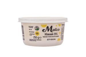 Маргарин 25% мягкий Нежный Мако п/у 250г