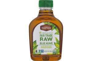 Madhava Organic Fair Trade Raw Blue Agave Sweetener