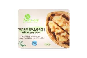 Суміш рослинних жирів 75% веганська зі смаком волоського горіха Naturale м/у 200г
