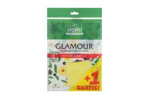 Салфетка из микрофибры универсальная Glamour Domi м/у 1шт