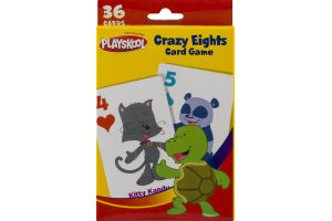 Playskool Crazy Eights Card Game