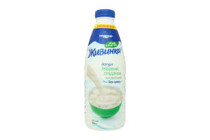 Йогурт питний Живинка 2,5% натуральний 850 Пет-пляшка