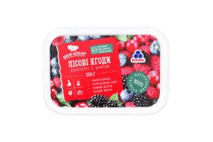 Лесные ягоды перетертые с сахаром Рудь п/у 350г