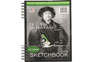 Roaring Spring Paper Products Sketchbook - 100 Sheets