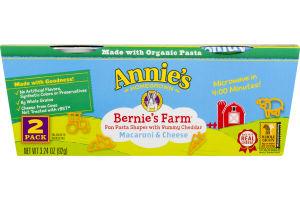 Annie's Homegrown Bernie's Farm Macaroni & Cheese - 2 PK