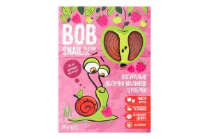 Цукерки натуральні яблучно-малинові Bob Snail к/у 60г