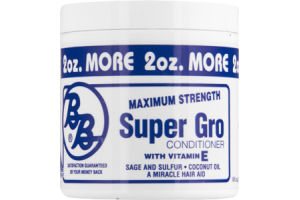 BB Maximum Strength with Vitamin E Super Gro Conditioner
