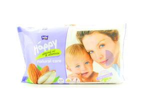 Салфетки детские влажные Natural Care Bella Baby Hapy 56шт