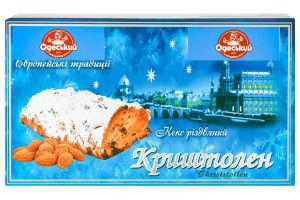 Кекс рождественский Криштолен Одеський хлібозавод №4 к/у 0.45кг