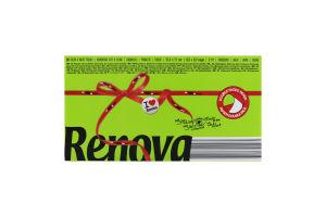 Салфетки Renova Red Label зеленые бумажная упаков