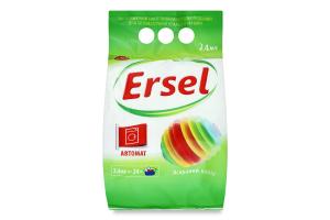 Пральний порошок Ersel Яскравий колір автомат 2400 г