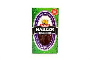Горбуша солено-сушеная филе-соломка Пивний Nabeer к/у 100г