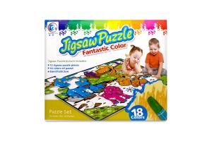 Пазл-раск Jigsaw Puzzle Драк 87х58,3 12эл 132101