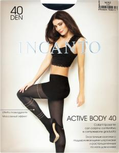 Колготки жіночі Incanto Active Body 40den 2-S nero