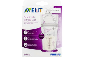 Philips Avent Breast Milk Storage Bags - 25 CT