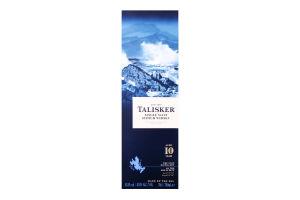 Виски 0,7л 45,8% 10лет Talisker (короб)