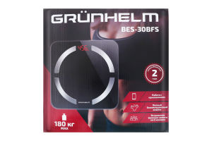 Ваги №BES-30BFS Grunhelm 1шт